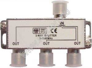Splitter - 3 ТВ  под  F разъем  5-1000 MHz  REXANT
