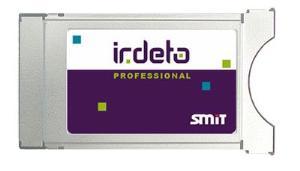 CAM модуль SMIT IRDETO PRO  (модуль на 8 услуг, 32PID)