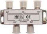Splitter - 4 ТВ  под  F разъем  5-1000 MHz  REXANT