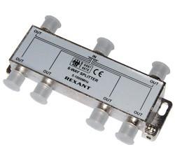 Splitter - 6 ТВ  под  F разъем  5-1000 MHz  REXANT