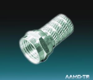 F- разъем на  RG-6  (03-008C)  Cabletech