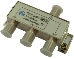 Сплиттер  SAH306F   (1x3, балансный,  5-862 Мгц,  6db)  RTM