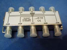 TAH  812F (8x12dB,  5-862 MHz)