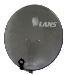 Антенна перфорированная офсетная с азимутальной фиксиpованной подвеской  LANS-65