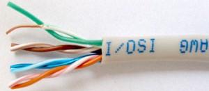 Кабель  UTP  LAN 540  300м  витая пара.