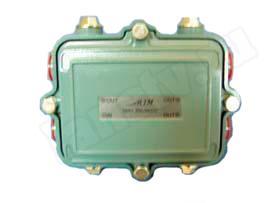 сплиттер SMH306/58/DC (1x3, разъем 5/8 - 3x 5/8, магистральный с прох. питанием)