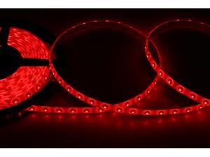 Лента светодиодная гибкая герметичная LED 10 x 3,0 мм. красная