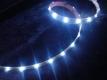 Лента светодиодная гибкая герметичная LED 10 x 3,0 мм. белая
