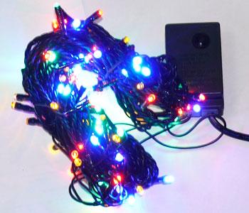 "Гирлянда ""Твикл-Лайт"" 10м LED мульти"