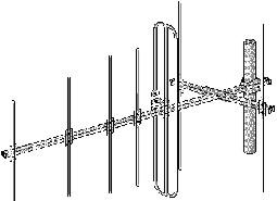 Антенна наружная. Дельта АТКГ-4.1.6-12.1 (6-12)