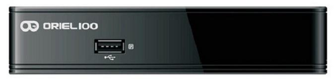 Цифровая эфирная приставка DVB-T2 Oriel 100