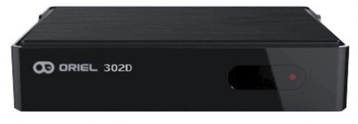Цифровая эфирная приставка DVB-T2 Oriel 302D
