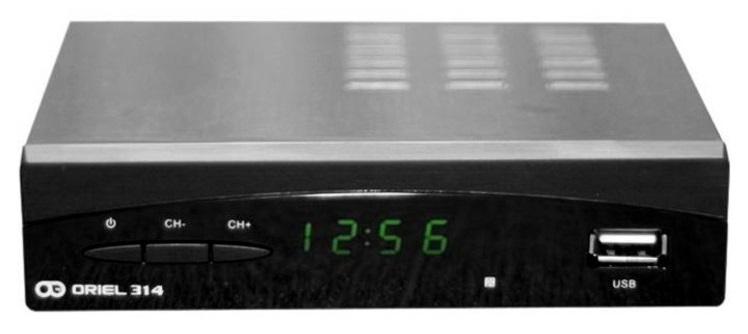 Цифровая эфирная приставка DVB-T2 Oriel 314