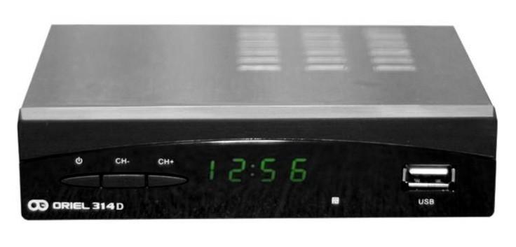 Цифровая эфирная приставка DVB-T2 Oriel 314D