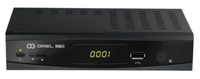 Цифровая эфирная приставка DVB-T2 Oriel 963