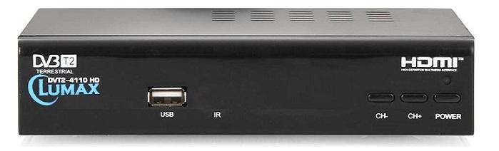Приемник эфирный цифровой  Lumax DVT2-4100HD