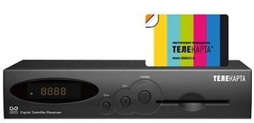 Комплект Телекарта SD с ресивером EVO-01