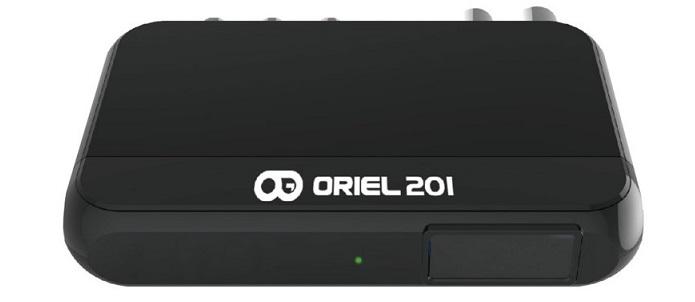 Цифровая эфирная приставка DVB-T2 Oriel 201