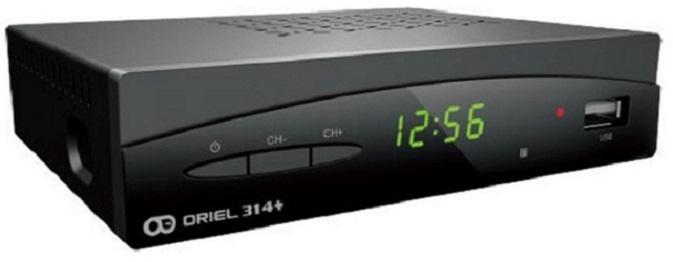 Цифровая эфирная приставка DVB-T2 Oriel 314+
