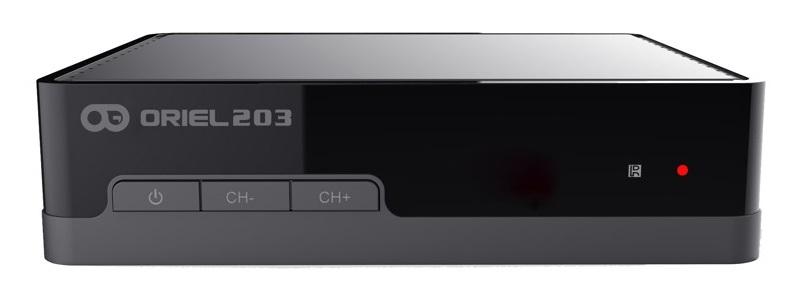 Цифровая эфирная приставка DVB-T2 Oriel 203