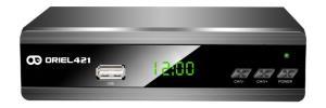 Цифровая эфирная приставка DVB-T2 Oriel 421D